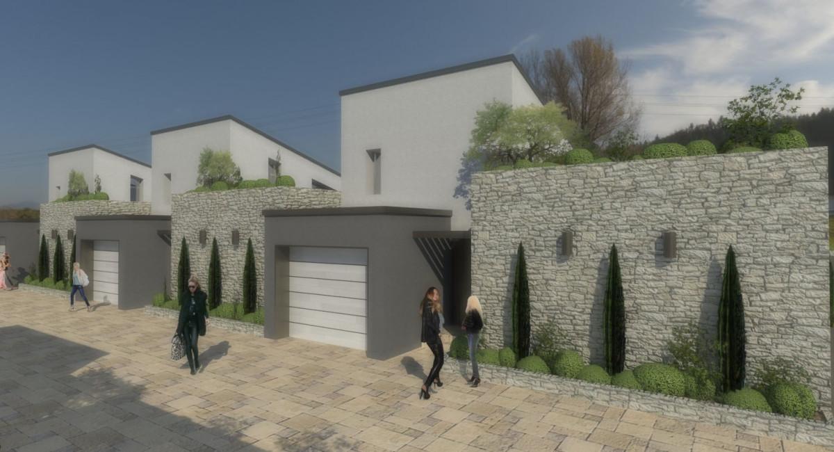 Concept case a patio ekoplan for Case architettura