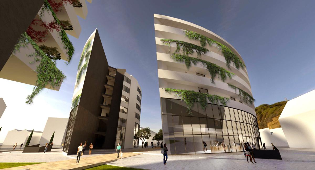 Concept Complesso LE VELE - Tirana - EKOPLAN Architetture (14)