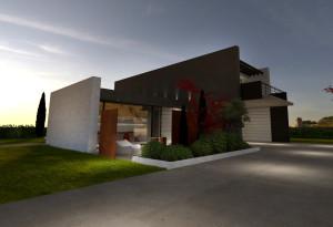 Concept villa di lusso in stile moderno - EKOPLAN Architetture - Mantova (12)