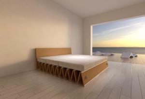 SOFFIETTO Cardboard Divano-letto - EKOPLAN Architetture - Mantova (4)