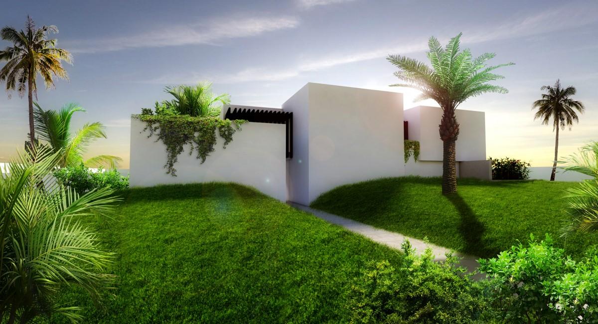 Modern Villa Concept Minimal - Bahrain- EKOPLAN Architetture